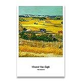 Colección Van Gogh, carteles impresos e impresiones, cuadros de pared, artistas clásicos, pinturas en lienzo sin marco de artistas T 30x45cm