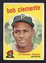 1959 Topps #478 Roberto Clemente Pirates VG-EX 372247 Kit Young Cards