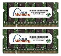 Arch Memory 4GB (2 x 2GB) 200ピン DDR2 So-dimm RAM HP Presario CQ35-205TX用