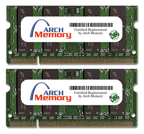 Arch Memory 4 GB (2 x 2 GB) 200-Pin DDR2 So-dimm RAM for ASUS EeeBox PC EB1007