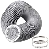 Best Dryer Vent Hoses - Duct Hose 4 inch by 12 feet, Abuff Review
