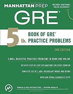 5 lb. Book of GRE Practice Problems (Manhattan Prep 5 lb Series)