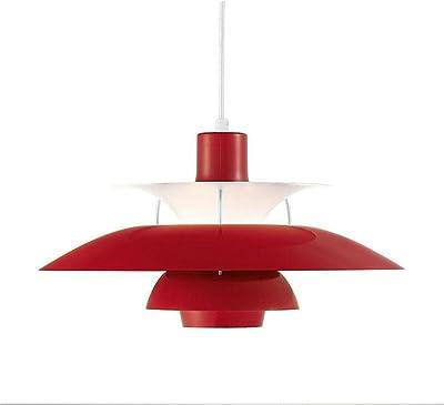 Amazon.com: Moderna lámpara de araña creativa blanca de 19.7 ...