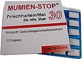 quacksalberei Witzige Kaugummis'MUMIEN-STOP 30' zum 30. Geburtstag
