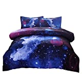 A Nice Night Galaxy Bedding Sets Outer Space Comforter 3D Printed Space...