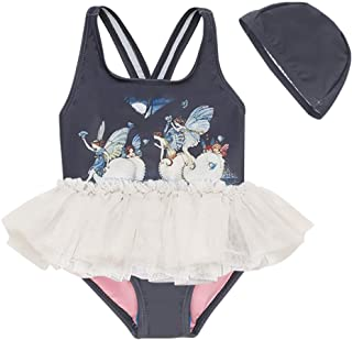 Baby Toddler Girl Swimsuit Unicorn Tutu Skirt Swimwear -One Piece Princess Swimwear Infant Bathing Suits for Girls Kids