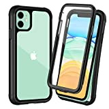 OTBBA iPhone 11 Case, Full-Body with Built-in Screen Protector...