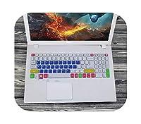 2020 For Acer Aspire 5 A315-41G a315-51G Aspire 3 A315-21 A315-31 A315-41 A315-51A315-51G用15.6インチキーボードカバープロテクタースキン-Candyblue-