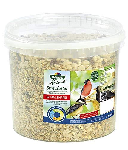 Dehner Natura Wildvogelfutter, schalenfreies Streufutter, 3.6 kg