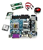 Zebronics 945 Motherboard Kit with Processor Intel Core 2 Duo 3 Ghz +
