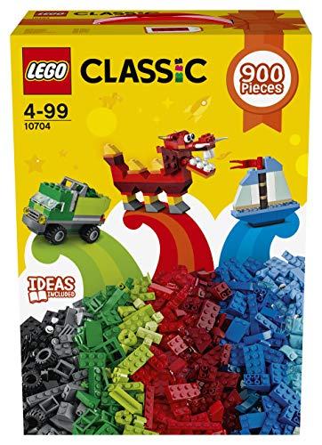 LEGO- Classic Scatola con Mattoncini per Stimolare la creatività, 10704