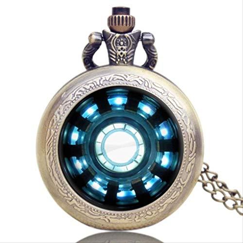 KUANDARGG Hermoso colgante reloj de bolsillo reloj collar relojes de bolsillo relojes cuarzo estilo 1