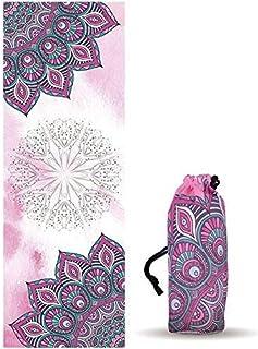 UCEC YogaMat Towel Hot Yoga Towel MicrofiberSweat Absorbent Gym Soft, Lightweight MatTowel for Hot Yoga, Bikram, Pilate...