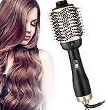 Salon Hot Air Brush, Hair Dryer and Volumizer, Hair Dryer Comb, Blow Dryer Styler, Warranty Eligible