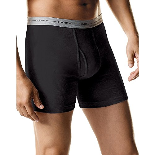 Hanes Men's TAGLESS Boxer Brief with Comfort Flex® Waistband 6-Pack