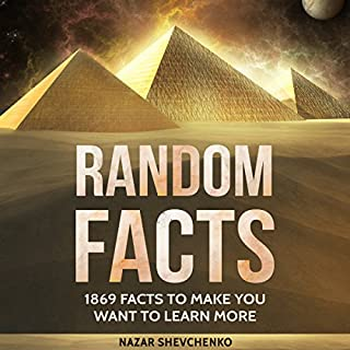 Random Facts: 1869 Facts to Make You Want to Learn More audiobook cover art