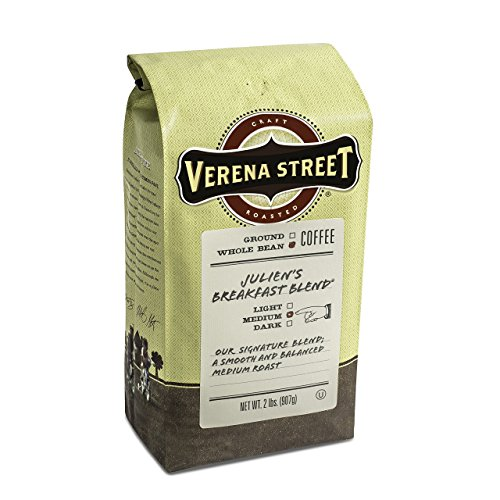 Our #6 Pick is the Verena Street Julien's Breakfast Blend Coffee