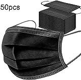 Bellaven 50pcsalgodón quirúrgico desechable cover- Negro