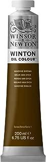 Winsor & Newton Winton Oil Colour Paint, 200ml tube, Vandyke Brown