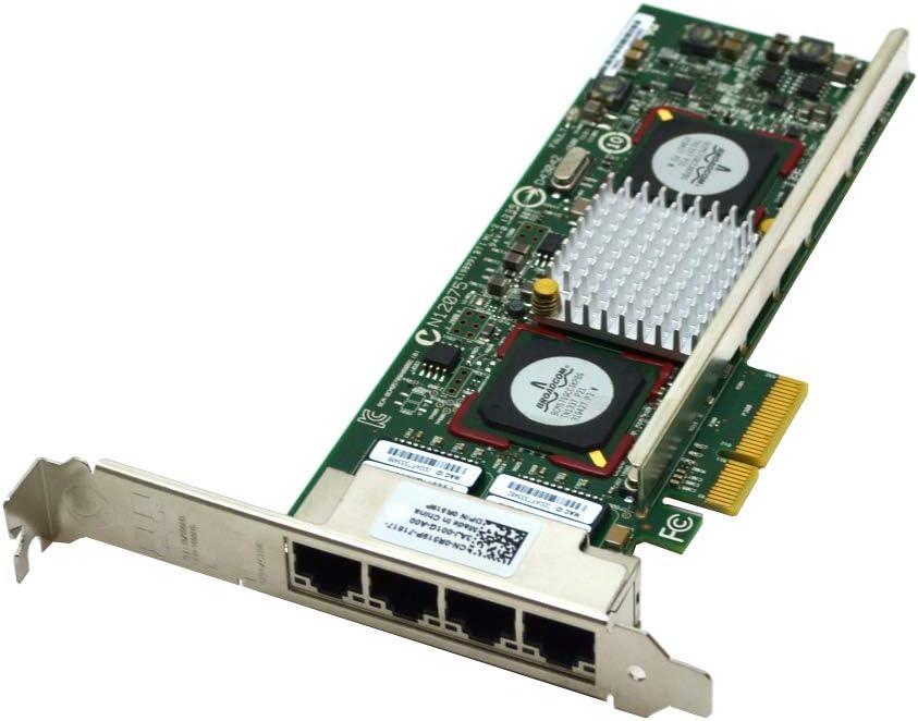 High quality Dell R519P 5709 Quad Port C Broadcom Mail order cheap NI 1GB