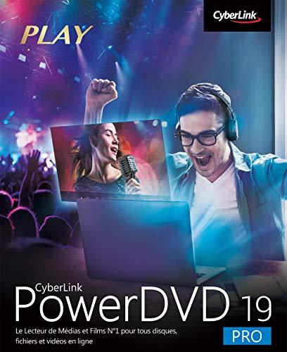 CyberLink PowerDVD 19 Pro   PC   Code d'activation PC - envoi par email