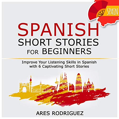 Page de couverture de Spanish Short Stories for Beginners