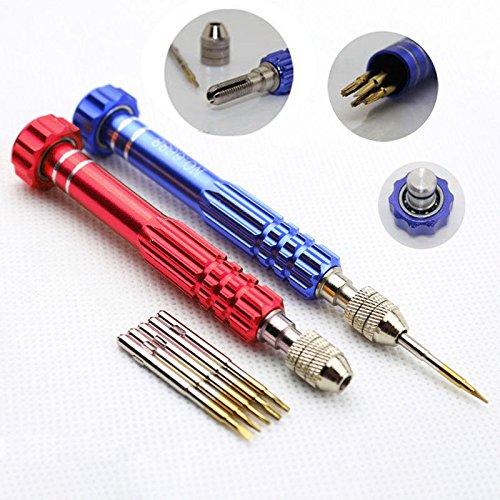 Professionele 5 in 1 Open Tools Kit Reparatie Schroevendraaier Set Voor iPhone 6G 5/5S/5C 4/4S Samsung Nokia