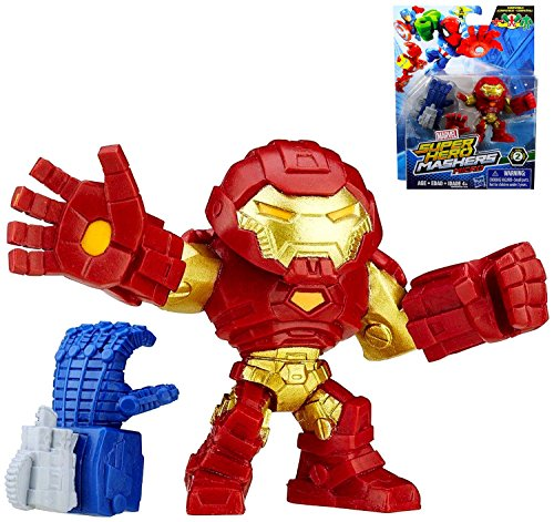 Marvel Super Hero Mashers Micro Series 2 Hulk Buster 2 Action Figure by Marvel