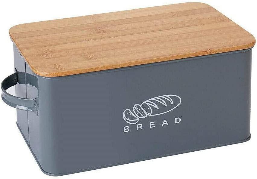 Bamboo Wood Bread Dedication Box Loaf Container Ranking TOP16 Kitchen with Lid Bin