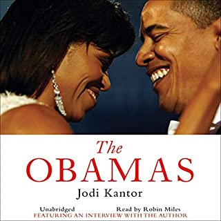 The Obamas audiobook cover art