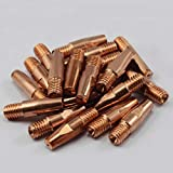 ELECTROPRIME Replacement Contact Tip 20Pcs Parts Weldings Soldering Equipment Durable