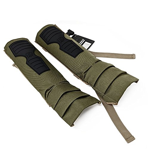 BattlTac Snake Gaiters Brush Guards - Military Grade Nylon Construction - Lightweight - One Size Fits All