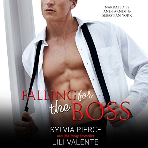 Falling for the Boss audiobook cover art