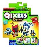 Qixels Royaume - Mini Kit 4 Créations - Thème Guerrier des Glaces - Asmokids - Loisirs créatifs - Jeu Garçons