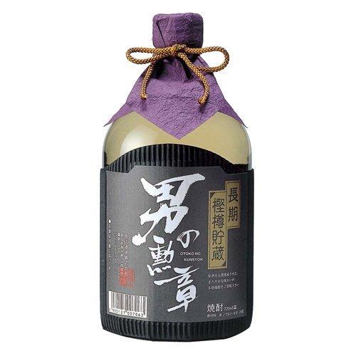 宮下酒造 男の勲章 樽熟成 米焼酎 25度 720ml
