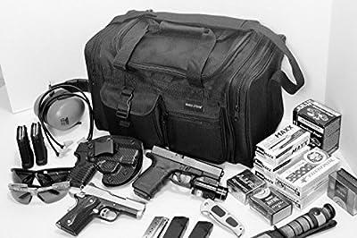 Explorer Range Bag Shooting Tactical Assault Gear Hiking Waist Bag Shoulder Backpack EDC Camera Bag MOLLE Modular Deployment Compact Utility Military Surplus Gear Heavy Duty (BLACK-TB17)