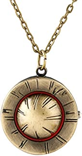 One Piece Necklace Pocket Watch Anime