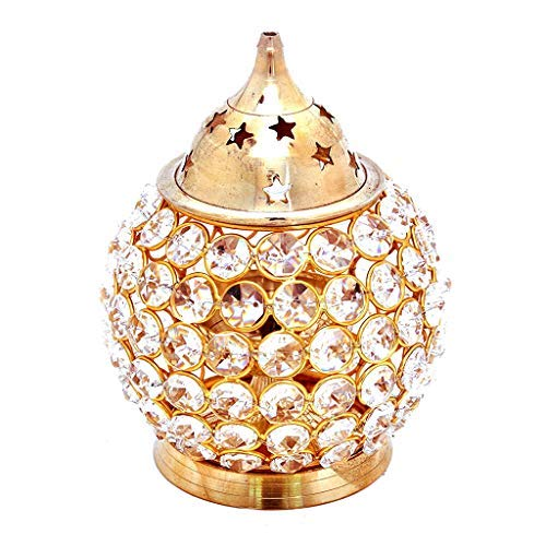 Desconocido Sataanreaper Presents Diamond Nag Profundo Brass Diya Akhand #SR-370