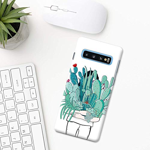 Saftig Hülle Samsung Galaxy S10 Plus S10e S9 S8 S7 edge S6 S5 note 8 9 10 Pro 5 Pflanzen cheveria Blume Kaktus