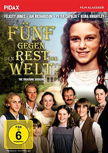 Fünf gegen den Rest der Welt (The Treasure Seekers) / Verfilmung des Romans von Kultautorin Edith Nesbit (Pidax Film-Klassiker)