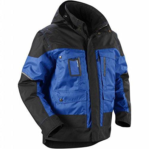 Blakläder 488619778599XL winterjas met capuchon, maat XL, blauw/zwart