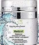 Retinol Moisturizer for Face and Eye Area - Wrinkle Cream for Women - Retinol Night Cream with Retinol, Hyaluronic Acid,...