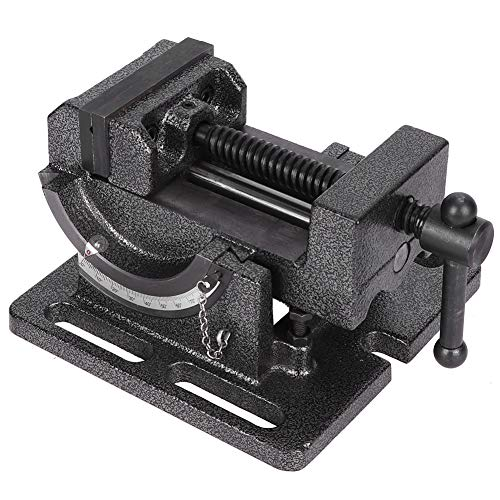 Cast Stee Drill Press Schraubstock Clamp-On-Schraubstock Anti-Rost-Kreuzschleifboden für Tischler kippbar