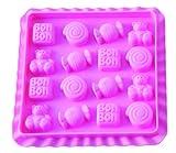Silkomart 199261 - Silikomart Easy Candy Bon Bon Molde
