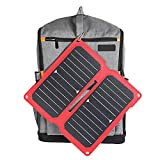 HXXXIN Cargador Solar, Bolsa Plegable Solar, Tablero De Carga...