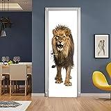 HSKABA Tür Tapete Selbstklebende Tür Wandbild,3D Tür