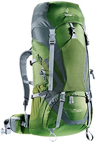 Deuter ACT Lite 65+10 Hiking Backpack - Discontinued, Pine/Granite