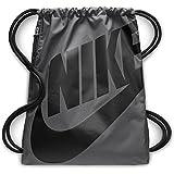 Nike BA5351, Mochila Unisex, Multicolor (gris / negro), Talla Única (13l)