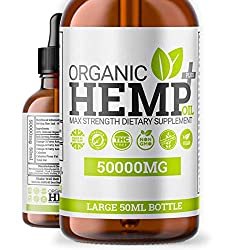✓ - 1 x MONTHS SUPPLY - 1 x Long-lasting 50ml Bottle Of Hello Supplements Organic Hemp Oil PLUS+. We Have A Long-lasting 2 Month Supply To Provide You The Best Value For Your Money And Lasts For A Longer Period. Assisting Your Overall Health, Wellnes...