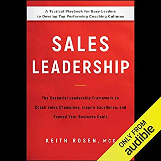 Sales Leadership audiobook cover art